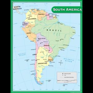 TCR7656 South America Map Chart Image