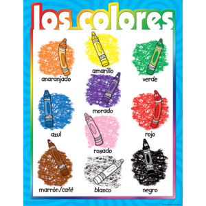 TCR7686 Colors (Spanish) Chart Image