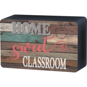 TCR77008 Home Sweet Classroom Magnetic Whiteboard Eraser Image