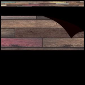 TCR77010 Reclaimed Wood Magnetic Border Image