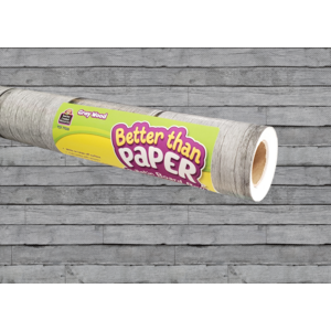 TCR77035 Gray Wood Better Than Paper Bulletin Board Roll Image