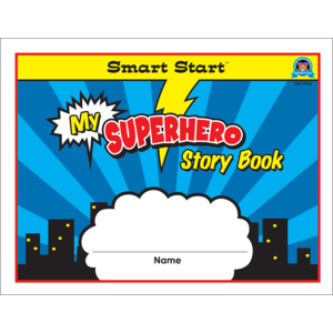 TCR77073 Superhero Smart Start K-1 Story Book Image