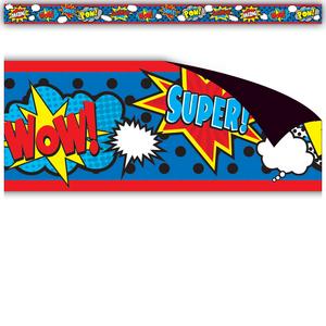 TCR77131 Superhero Magnetic Border Image
