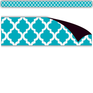 TCR77146 Teal Moroccan Magnetic Strips Image