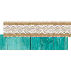 TCR77176 Shabby Chic Ribbon Runner Image
