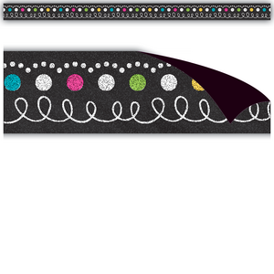 TCR77222 Chalkboard Brights Magnetic Strips Image