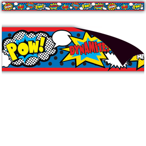 TCR77223 Superhero Magnetic Strips Image