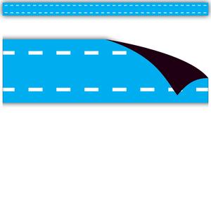 TCR77265 Aqua Stitch Magnetic Strips Image