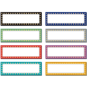 TCR77284 Marquee Labels Magnetic Accents Image