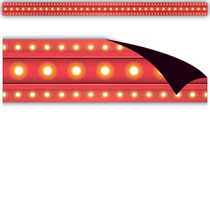 TCR77287 Red Marquee Magnetic Strips Image
