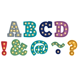 "TCR77300 Marquee Bold Block 2"" Magnetic Letters Image"
