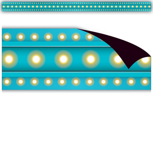 TCR77304 Light Blue Marquee Magnetic Border Image