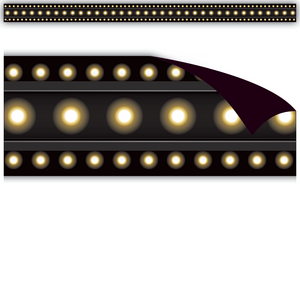 TCR77305 Black Marquee Magnetic Border Image
