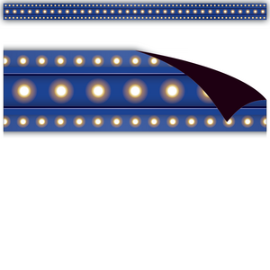 TCR77306 Dark Blue Marquee Magnetic Strips Image