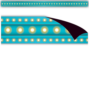 TCR77307 Light Blue Marquee Magnetic Strips Image