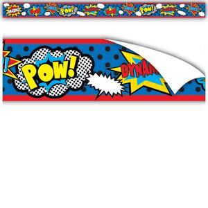 TCR77334 Clingy Thingies Superhero Strips Image