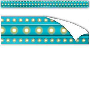 TCR77335 Clingy Thingies Light Blue Marquee Strips Image