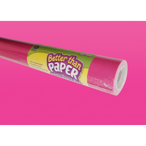 TCR77372 Hot Pink Better Than Paper Bulletin Board Roll Image