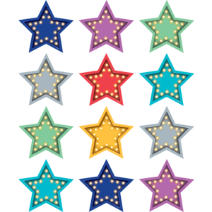 TCR77386 Marquee Stars Magnetic Accents Image