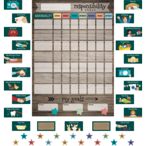 TCR77876 Clingy Thingies: Responsibility Chart Image