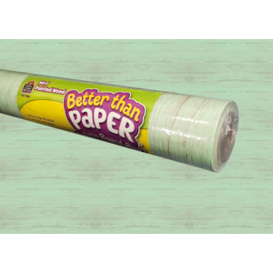TCR77883 Mint Painted Wood Better Than Paper Bulletin Board Roll Image
