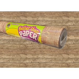 TCR77884 Rustic Wood Better Than Paper Bulletin Board Roll Image