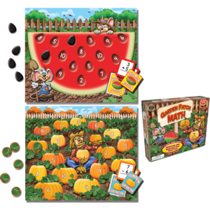 TCR7808 Garden Patch Math Game Image