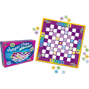 TCR7837 Jumpin Chips: Addition Game Image