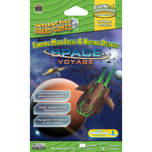 TCR7845 Space Voyage Computer Game CD Grade 2-3 Image