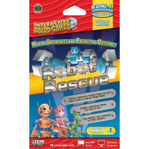 TCR7849 Robot Rescue Computer Game CD Grade 2-3 Image