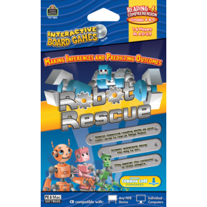 TCR7850 Robot Rescue Computer Game CD Grade 4-5 Image