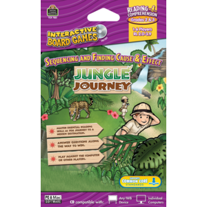 TCR7851 Jungle Journey Computer Game CD Grade 2-3 Image