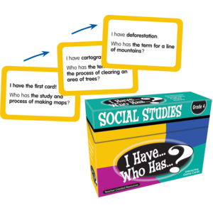 TCR7865 I Have, Who Has Social Studies Game Grade 4 Image