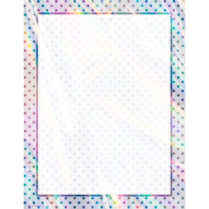 TCR7950 Iridescent Blank Chart Image