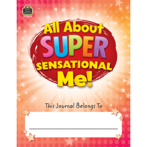 TCR8005 All About Super-Sensational Me! Journal Grades 2-3 Image