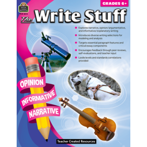 TCR8015 The Write Stuff Grade 6+ Image