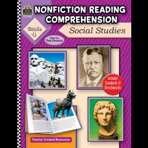 TCR8025 Nonfiction Reading Comprehension: Social Studies, Grade 4 Image