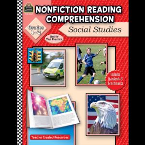 TCR8027 Nonfiction Reading Comprehension: Social Studies, Grades 1-2 Image