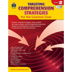 TCR8031 Targeting Comprehension Strategies for the Common Core Grade 2 Image