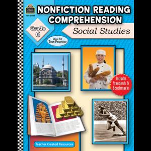 TCR8038 Nonfiction Reading Comprehension: Social Studies, Grade 6 Image