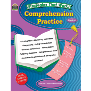 TCR8044 Strategies that Work: Comprehension Practice, Grade 4 Image