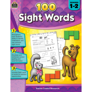 TCR8059 100 Sight Words Grades 1-2 Image