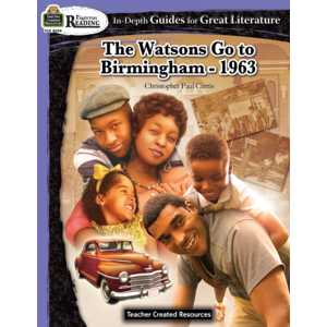 TCR8099 Rigorous Reading: The Watsons Go To Birmingham - 1963 Image