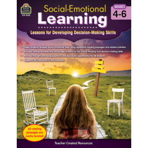 TCR8130 Social-Emotional Learning: Lessons for Developing  Decision-Making Skills Grades 4-6 Image