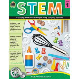 TCR8181 STEM: Engaging Hands-On Challenges Using Everyday Materials Grade 1 Image