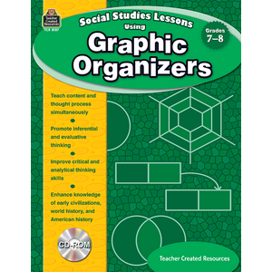 TCR8187 Social Studies Lessons Using Graphic Organizers Image
