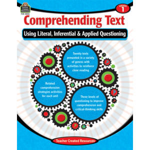 TCR8236 Comprehending Text Using Literal, Inferential & Applied Questioning Grade 1 Image