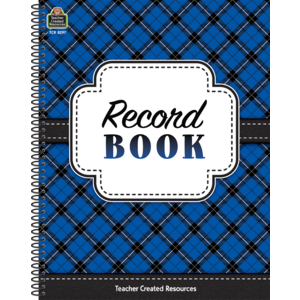 TCR8297 Plaid Record Book Image