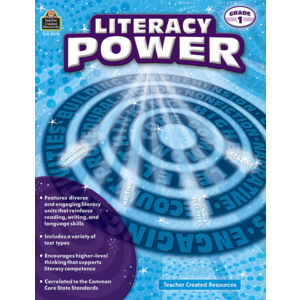 TCR8370 Literacy Power Grade 1 Image