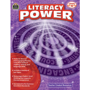 TCR8378 Literacy Power Grade 4 Image